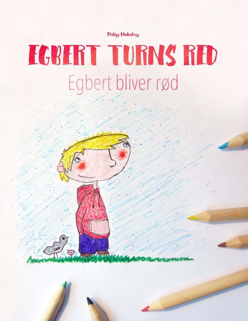 Egbert bliver rød
